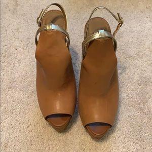 Jessica Simpson open toe heels